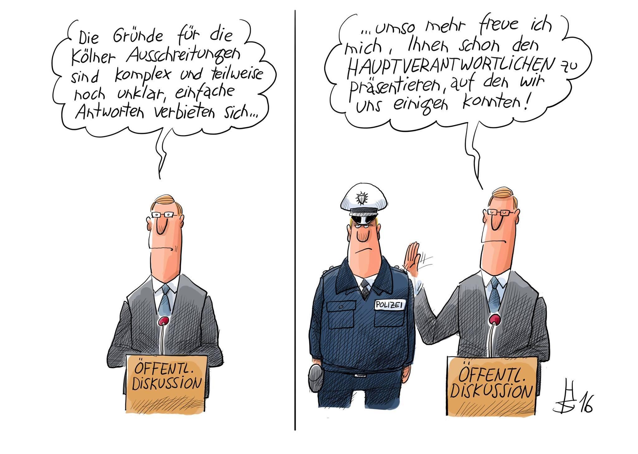 Polizist Mensch