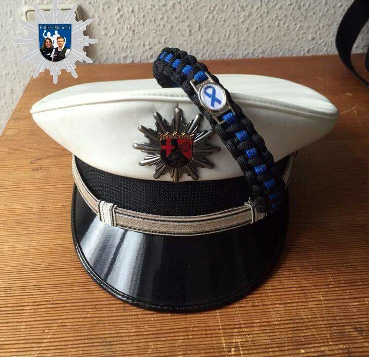 Armband und Dienstmütze RLP