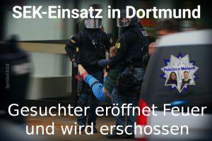 SEK-Einsatz in Dortmund