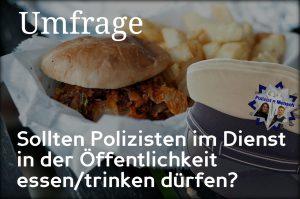Umfrage: Essen in der Öffentlichkeit
