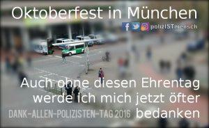 Auf dem Weg zum Oktoberfest in München