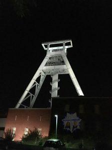 Nachtdienstgruß aus Bochum
