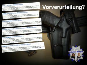 Nach tödlichem Dienstwaffengebrauch in Berliner Flüchtlingsunterkunft: Vorverurteilung durch Berichterstattung?