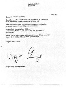 Antwort des Präsidenten, Seite 2