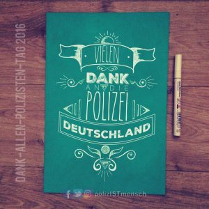 Danke Polizei Deutschland
