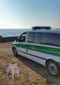 Gruß vom Zoll in Kiel