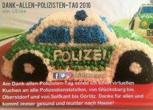 Virtueller Polizeiautokuchen
