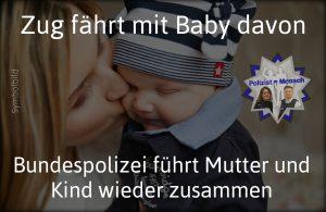 In eine Notlage gerieten eine junge Mutter und ihr Baby