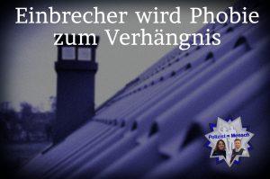 Einbrecher wird Phobie zum Verhängnis