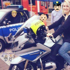 Anne auf dem Sicherheitstag in Bochum