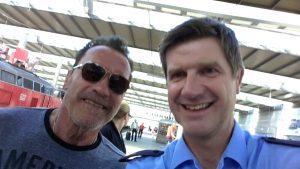 Selfie mit Arnie