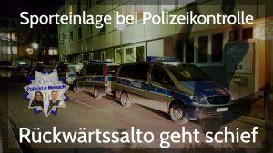 Sporteinlage bei Polizeikontrolle
