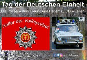 """""""Die Polizei - dein Freund und Helfer!"""" zu DDR-Zeiten"""