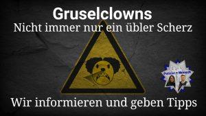 Gruselclowns: Nicht immer nur ein übler Scherz