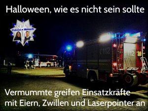Halloween, wie es nicht sein sollte!