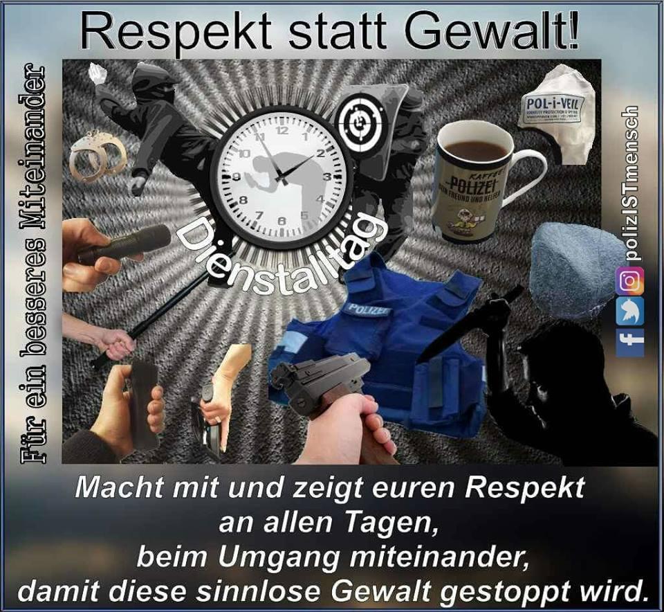 ➡ Respekt statt Gewalt! ⬅