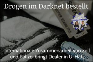 Drogen im Darknet bestellt