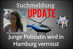 +Update+ Junge Polizistin wird in Hamburg vermisst