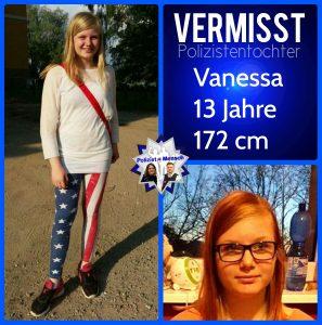 Polizistentochter Vanessa (13) wird vermisst