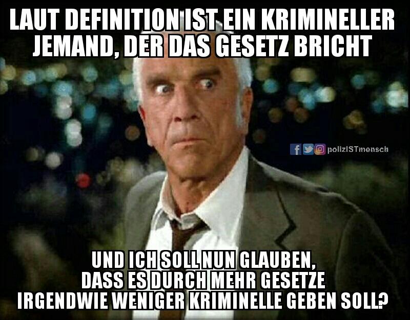 Was Frank Drebin von der speziellen Spezialeinheit schon wusste...