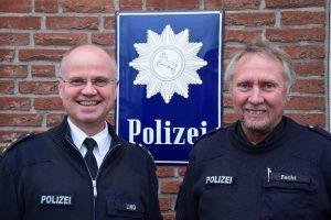 Polizeischild findet nach 30 Jahren nach Hause