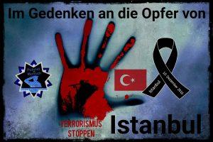 Terrorismus stoppen: Im Gedenken an die Opfer von Istanbul
