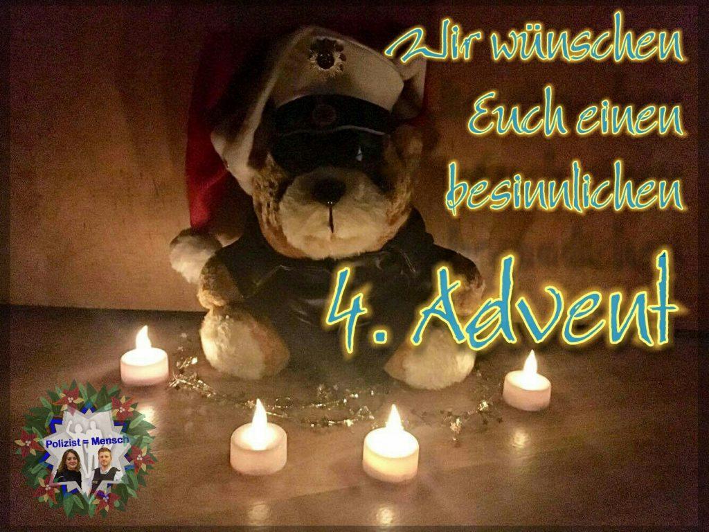 In diesem Sinne wünschen wir allen einen besinnlichen 4. Advent!