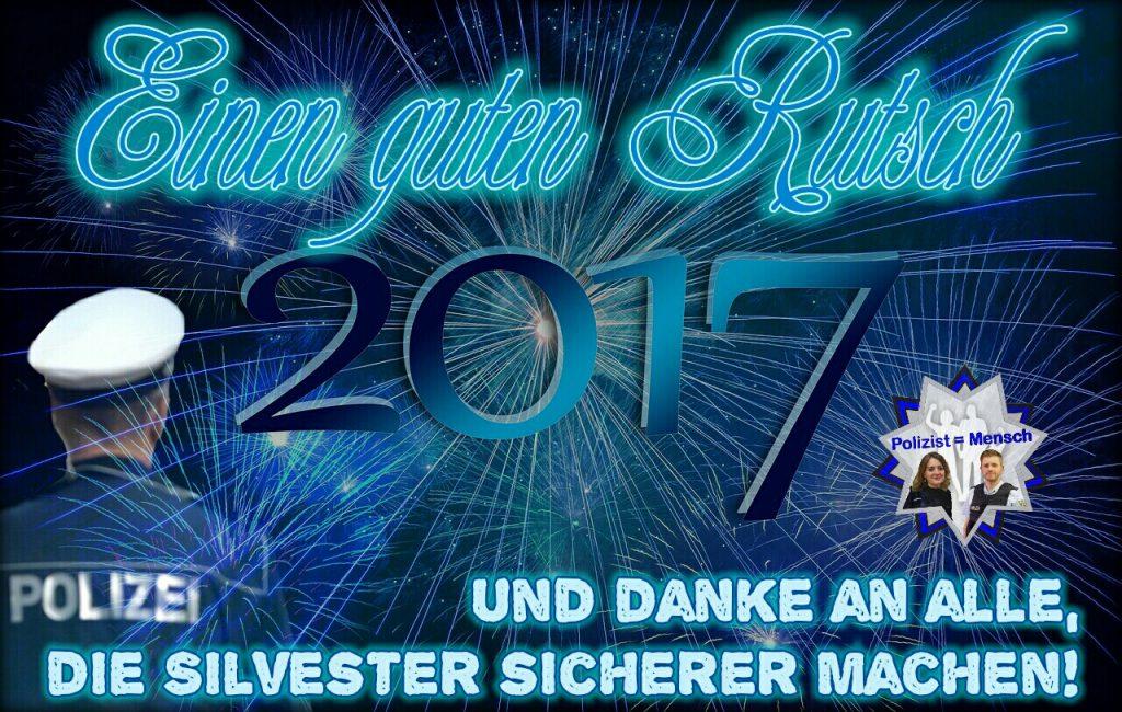 Wir wünschen allen einen guten Rutsch in 2017!