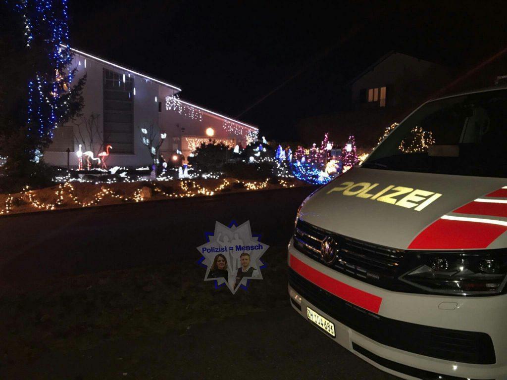 Unser heutiger Gruß zum Nachtdienst kommt von Leslie von der Stadtpolizei Zürich (Schweiz)
