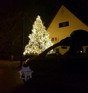 Weihnachtsimpressionen im Nachtdienst