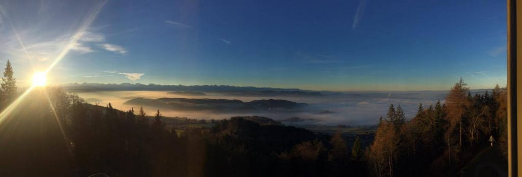 Was ein Panorama am Montagmorgen