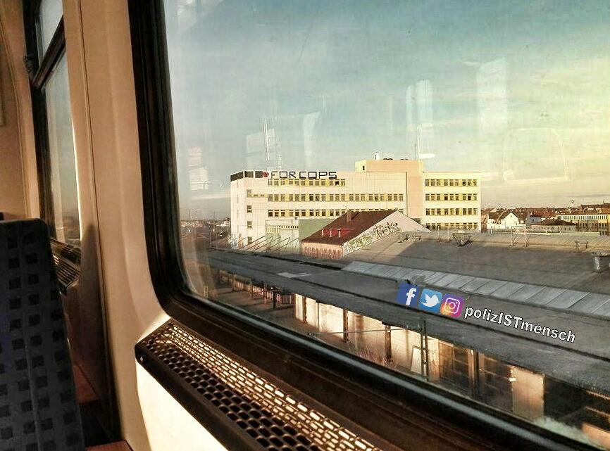 Eve hat uns auf ihrer Bahnreise durch Nürnberg folgendes Bild mitgebracht