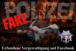 Erfundene Vergewaltigung auf Facebook