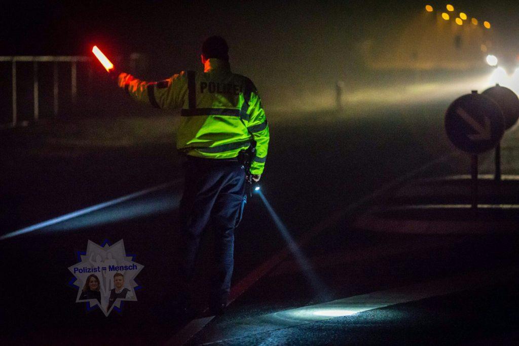 Bundespolizei, Nachtdienst, Grenzüberwachung