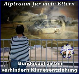 Bundespolizisten verhindern Kindesentziehung