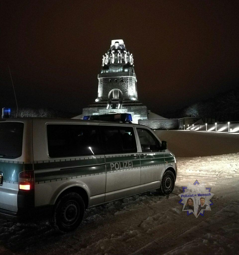 Nachtdienstgruß aus Leipzig