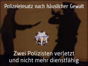 Polizeieinsatz nach häuslicher Gewalt