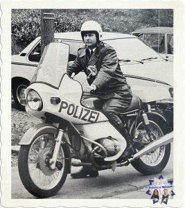 Motorisierte Kradpolizei in NRW um 1980