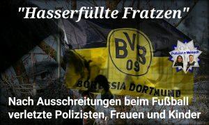 """""""Hasserfüllte Fratzen"""": Nach Ausschreitungen beim Fußball verletzte Polizisten, Frauen und Kinder"""
