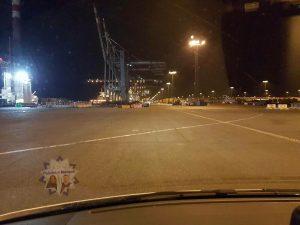 Gruß zum Nachtdienst aus Bremerhaven