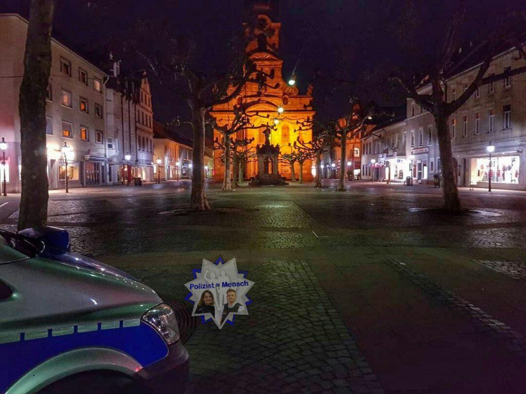 Unser heutiger Bildgruß zum Nachtdienst kommt aus Rastatt