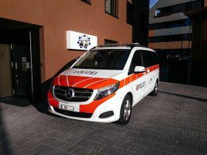 Neuer Einsatzwagen für die Polizei Nidwalden