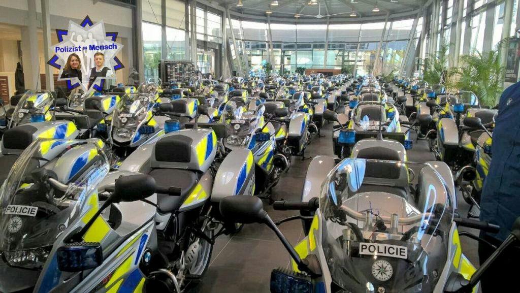 Neue Motorradflotte für die Polizei in Tschechien