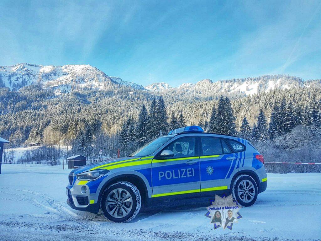 Gruß aus dem verschneiten Bayernland