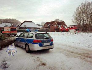 Winterlicher Bildgruß aus Niedersachsen