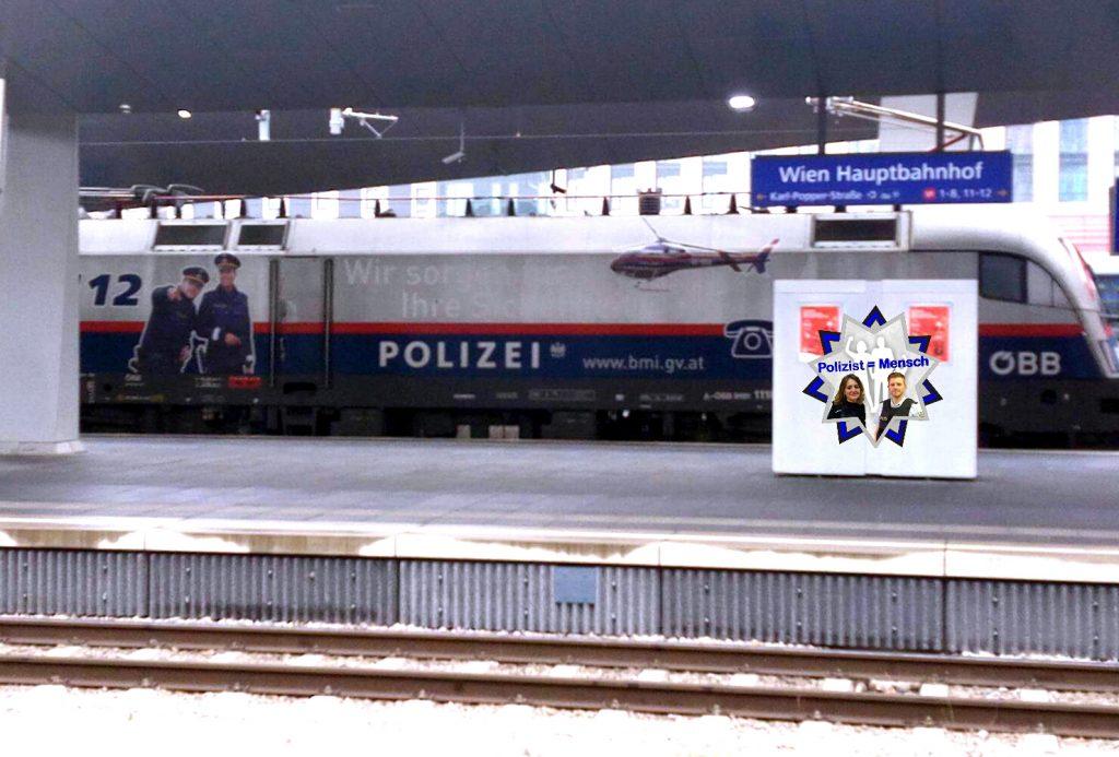Ein Polizeizug?