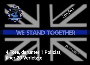 Anschlag in London fordert 4 Menschenleben, darunter 1 Polizist