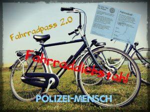 Fahrraddiebstahl und Fahrradpass