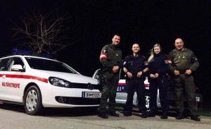 Militärpolizei und Landespolizei Burgenland