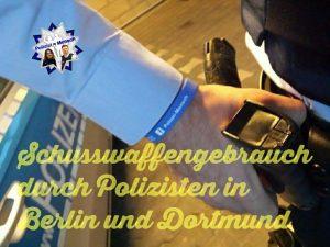 Am Samstagmorgen kam es in Berlin Friedrichshain zu einem Schusswaffengebrauch durch einen Polizisten